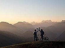 Coole Panorama-Bikestrecken