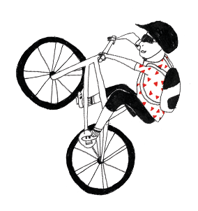 Mountainbiker Illustration